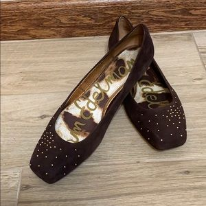 Sam Edelman | brown studded flats